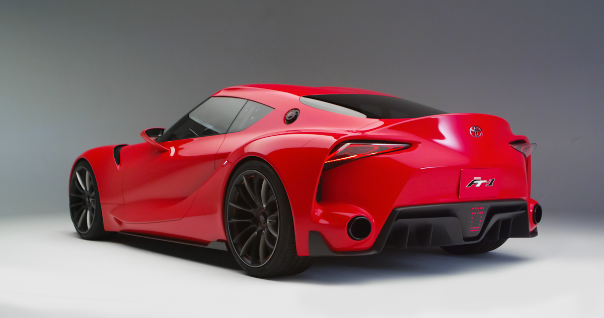Toyota FT-1 Concept: Let this be the new Toyota Supra! [+Video ...