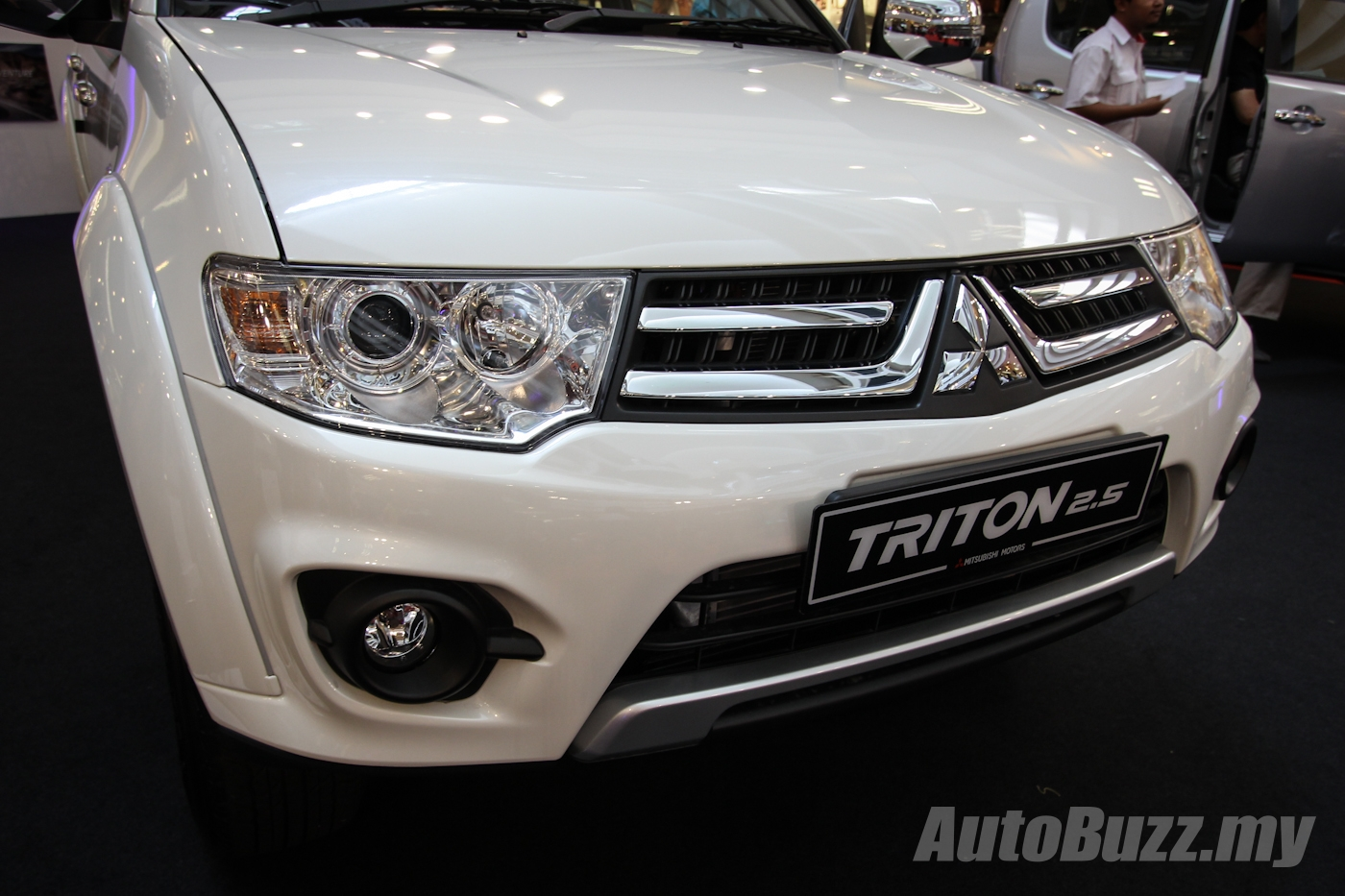 Mitsubishi Triton Gets A New Look In Malaysia Vgt Gs