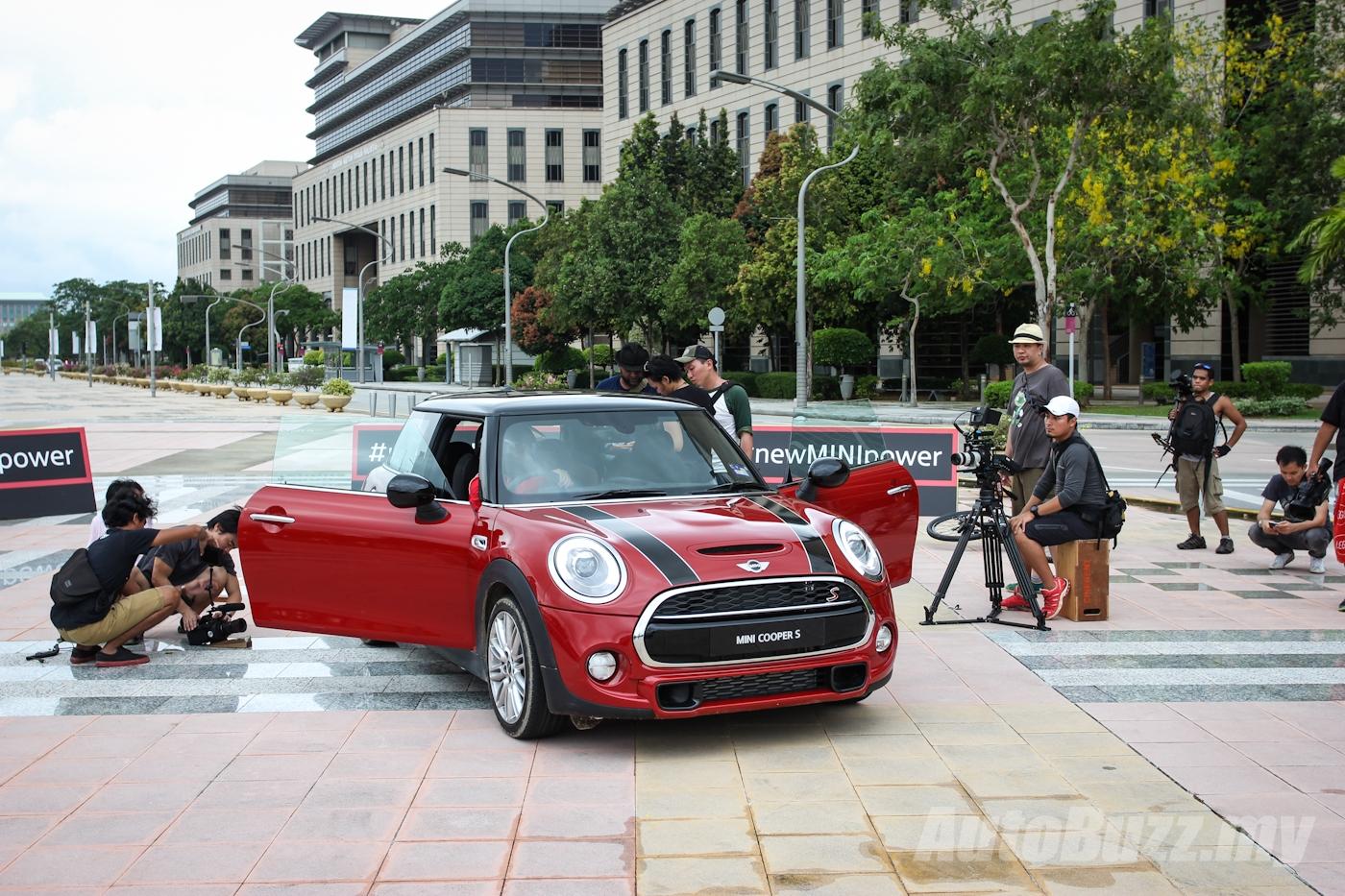 Men Vs Mini In Putrajaya Behind The Scenes With Cooper S F56 Video Images