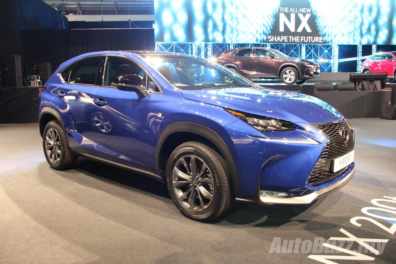 Lexus Malaysia recalls 255 Lexus NX over potential ABS