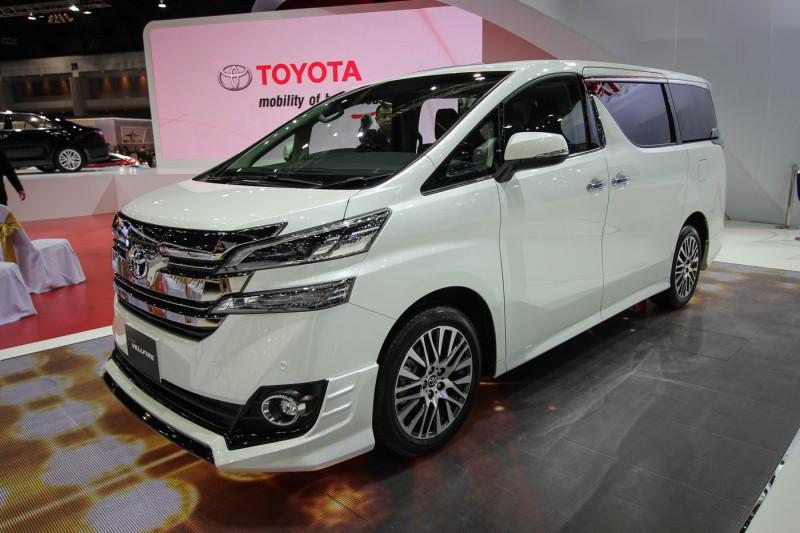 2015 Toyota Vellfire launch in Bangkok Motor Show - Penisverlangerung-At