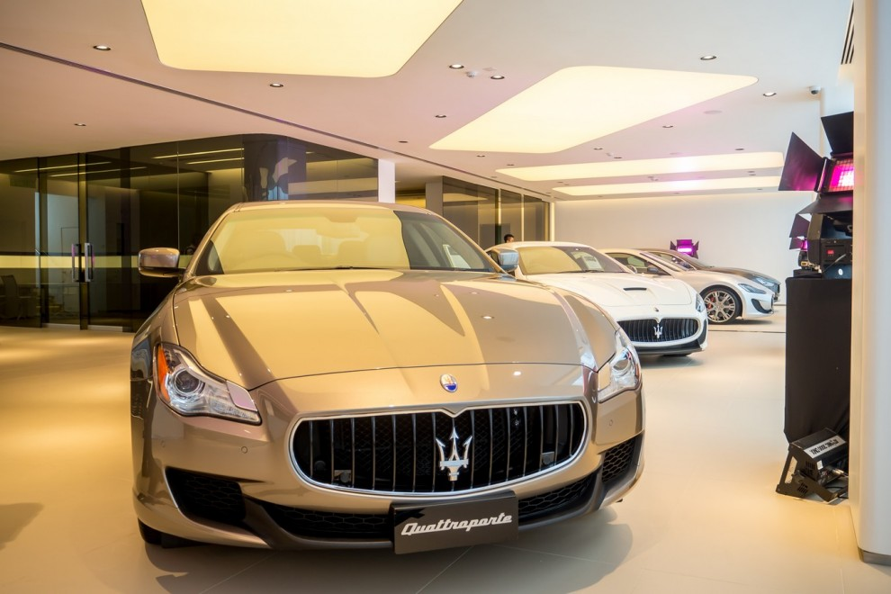 Naza Italia Launches Refurbished Showroom For Ferrari And
