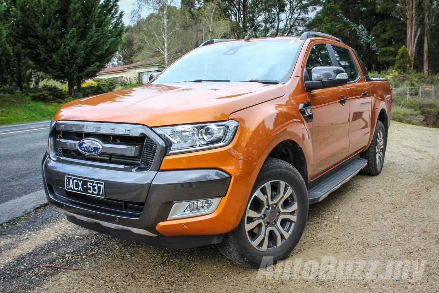 Spybuzz New Ford Ranger Wildtrak Spotted In Australia Video Autobuzz My