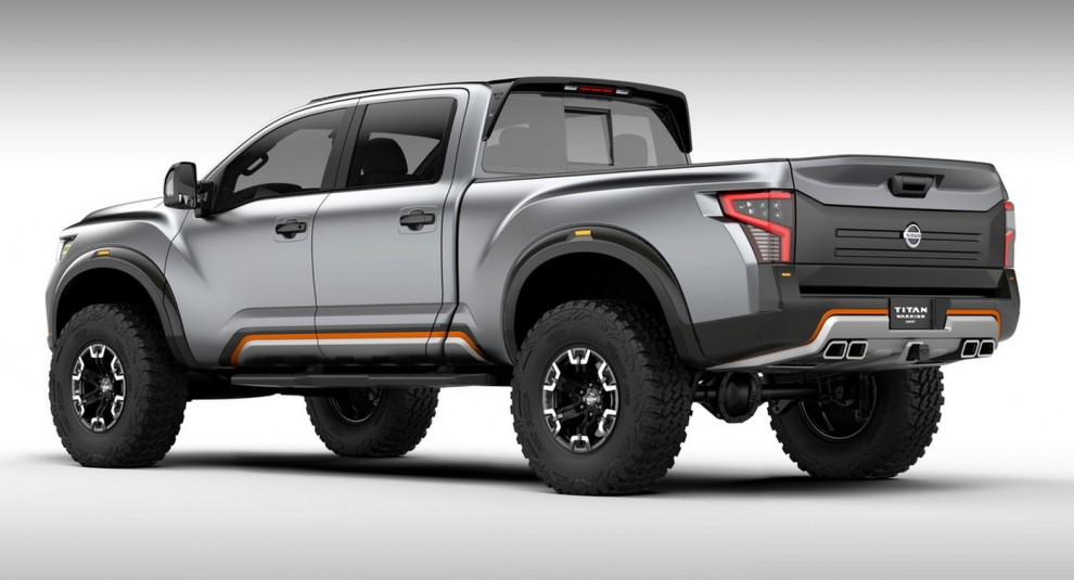 The new Nissan Titan Warrior Concept is one mean pick up ...