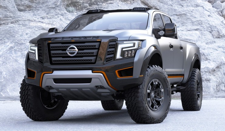 The New Nissan An Warrior Concept Is One Mean Pick Up Truck