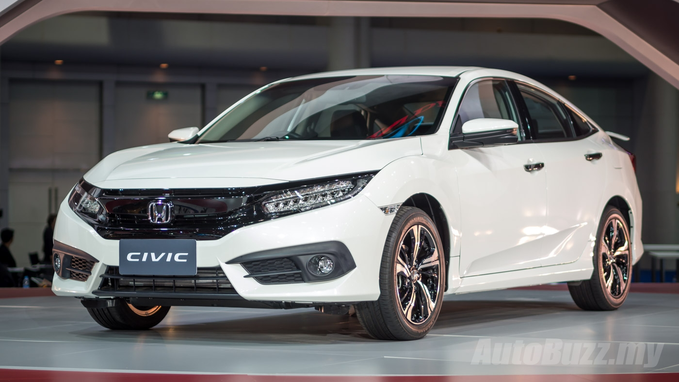 Honda strikes it big at bangkok with new civic accord for Honda accord vs honda civic