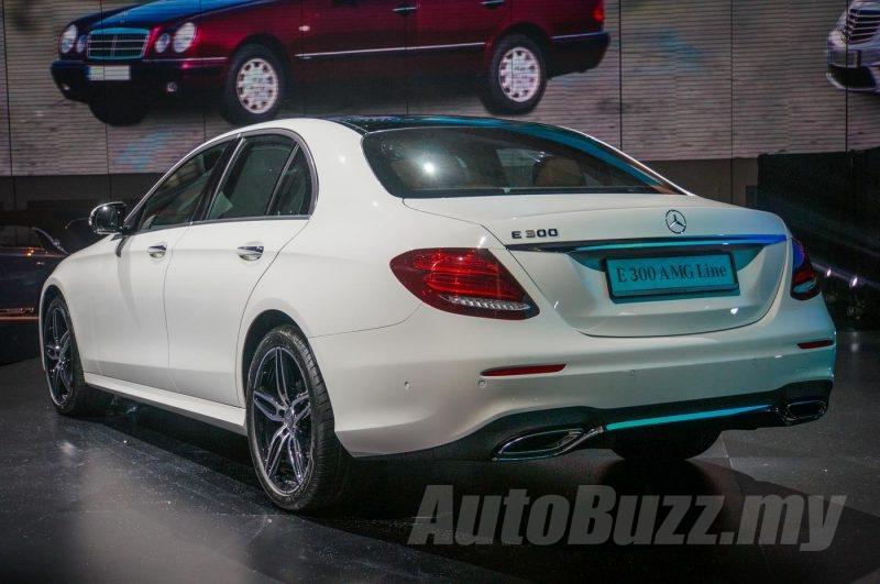 2016 Mercedes-Benz E-Class W213 launch - AutoBuzz.my