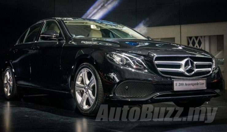 2016 Mercedes Benz E Class W213 Now In Malaysia E200 Priced At
