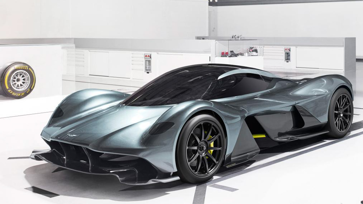 The Best New Cars By Bugatti Aston Martin And Ferrari In 2018: New Aston Martin-Red Bull Hypercar Makes Formula One Cars