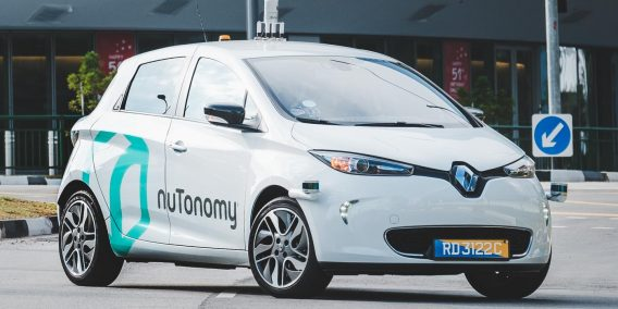 2016 Self Driving Taxi in SIngapore