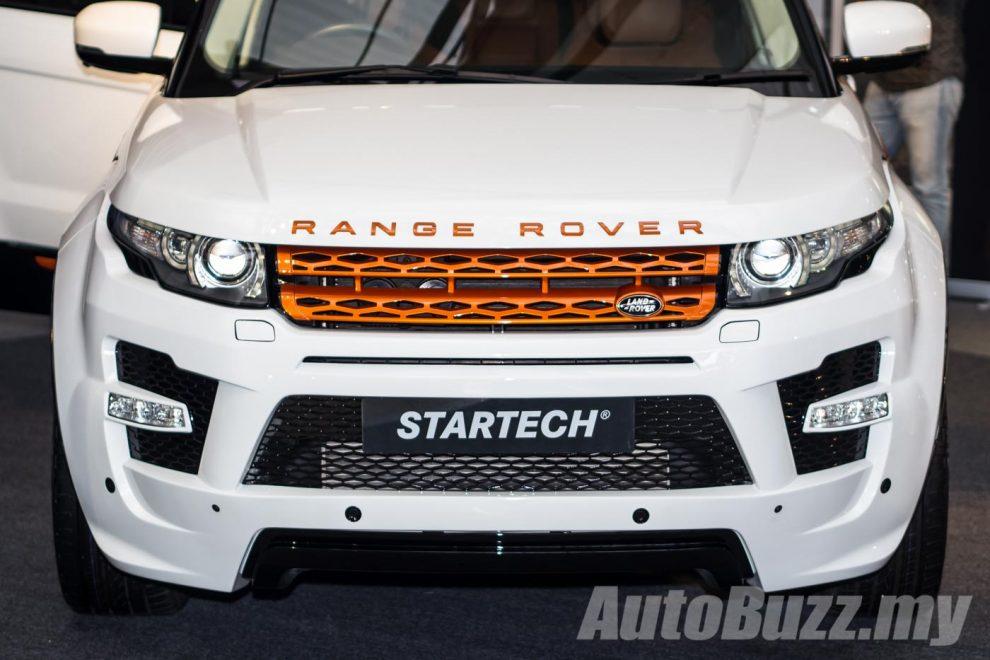 Jaguar Auto Parts >> STARTECH shows off original accessories for Range Rover Evoque - AutoBuzz.my
