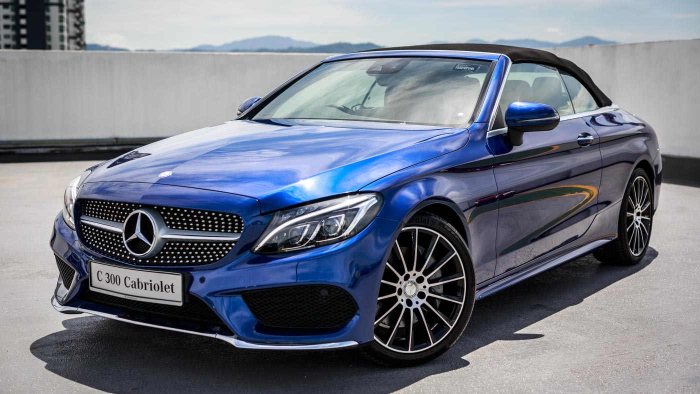 2016 mercedes benz c class cabriolet launched in malaysia for Mercedes benz c300 cost