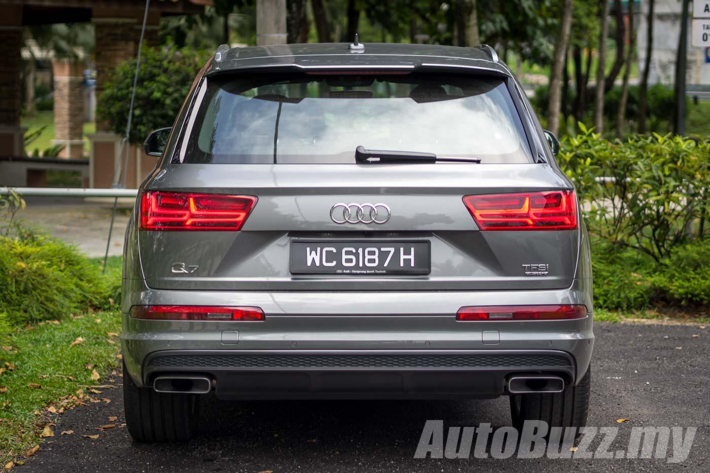 Audi Q7 2.0 TFSI Quattro launched in Malaysia, now RM65k cheaper at Audi Graphite Grey on audi moss green, audi bronze, audi chrome, audi cobalt blue, audi maroon, audi yellow, audi black, audi midnight blue, audi white, audi gold, audi purple,