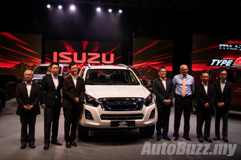 2016 Isuzu D-Max Facelift Launch