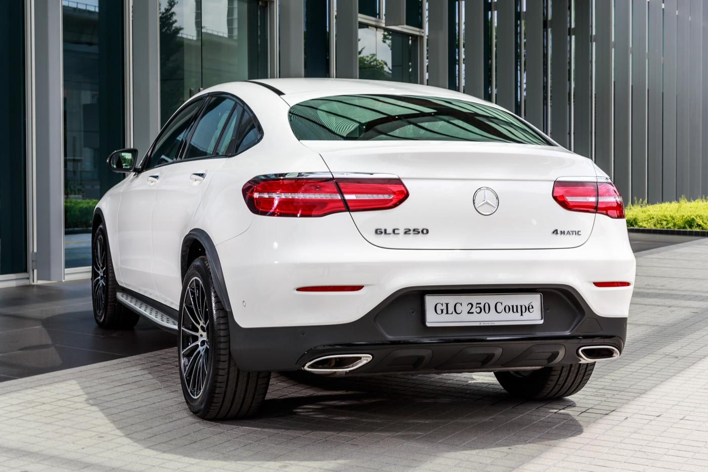 mercedes-benz glc 250 4matic coupé launched, all yours for rm424k