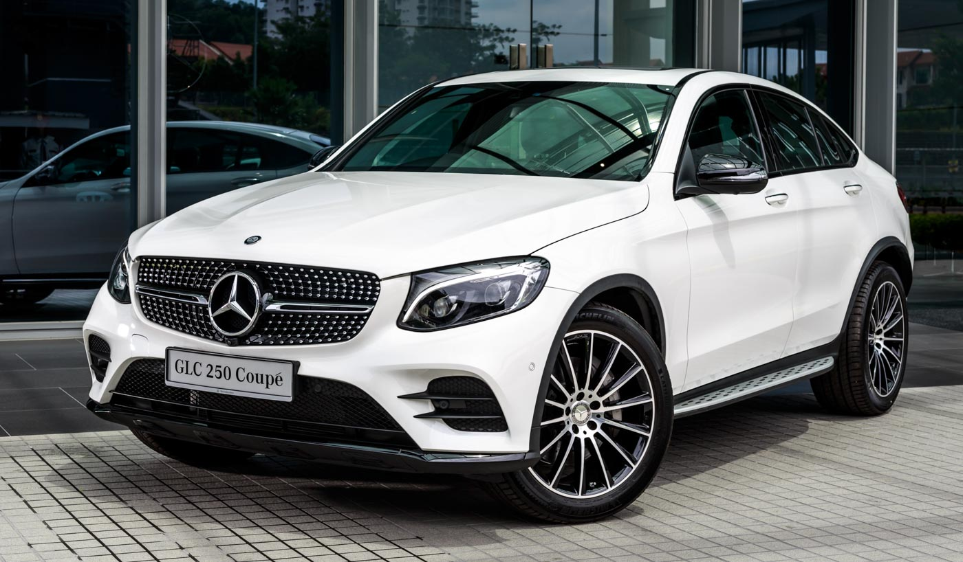 mercedes benz glc 250 4matic coup launched all yours for rm424k. Black Bedroom Furniture Sets. Home Design Ideas