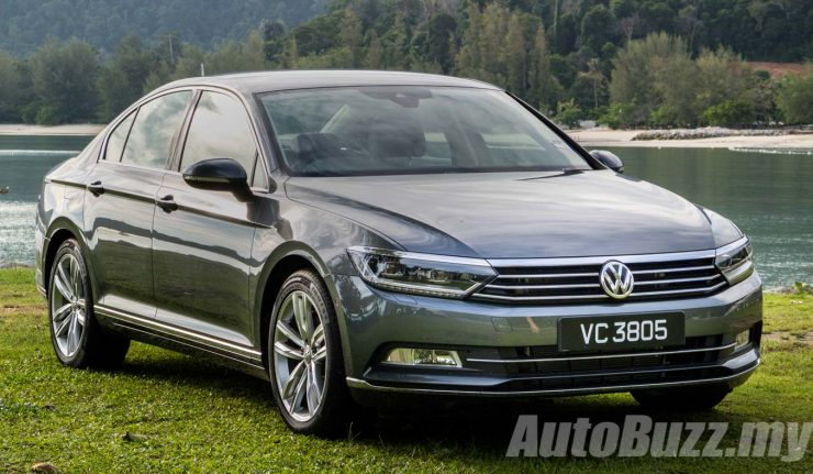 review volkswagen passat b8 exciting in every way. Black Bedroom Furniture Sets. Home Design Ideas