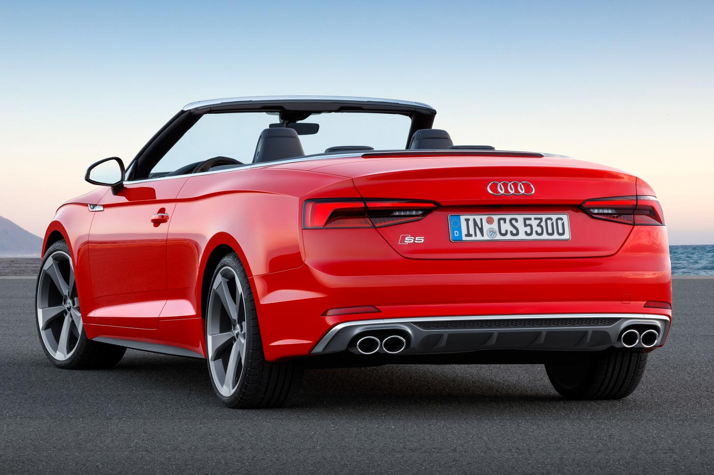 2017 audi a5 s5 cabriolet unveiled lighter stronger and more powerful. Black Bedroom Furniture Sets. Home Design Ideas