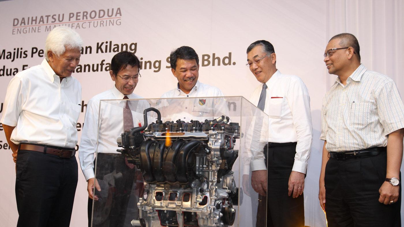 Rm500mil Daihatsu Perodua Engine Manufacturing Plant Now Operational In Sendayan Autobuzz My