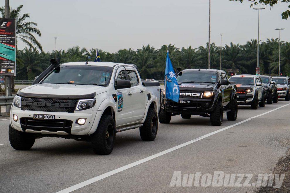 Malaysia Ford Ranger Club's Mega Gathering, 215 Ford ...