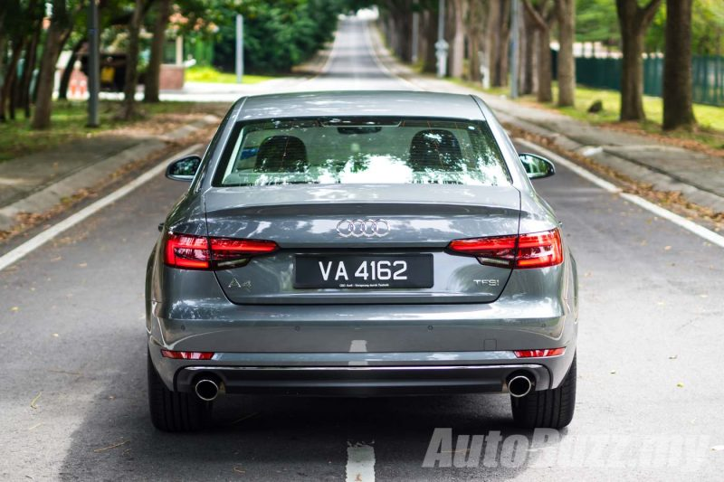 2016 Audi A4 B9 2.0 TFSI Review - AutoBuzz.my