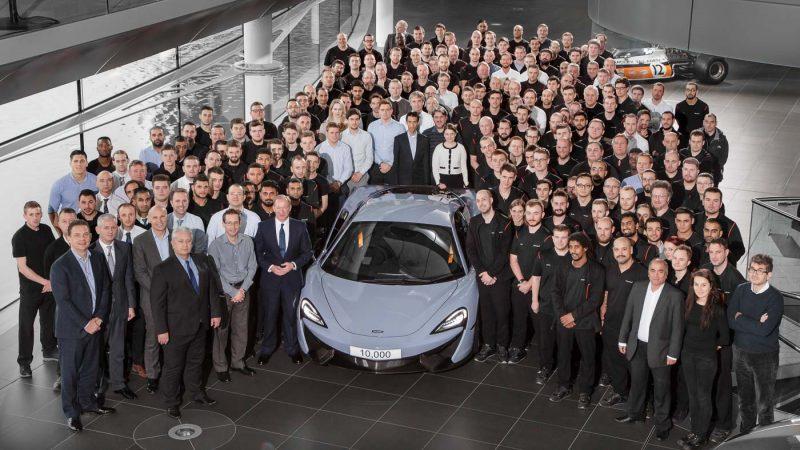 2016 McLaren Rolls out 10,000th car