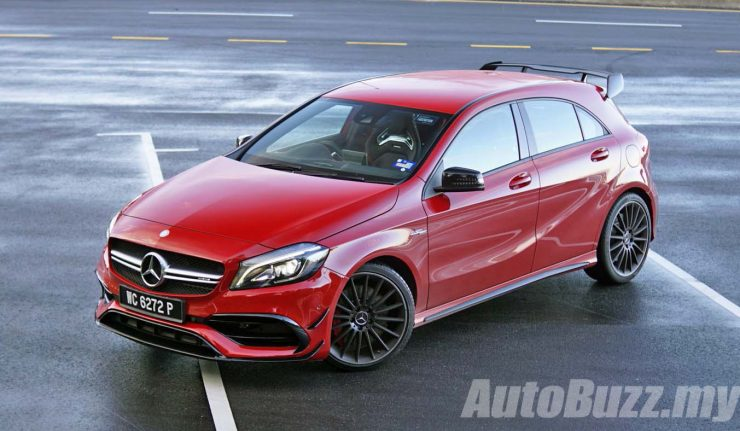 Review 2016 Mercedes Amg A 45 4matic Baby Gone Bad Autobuzz My