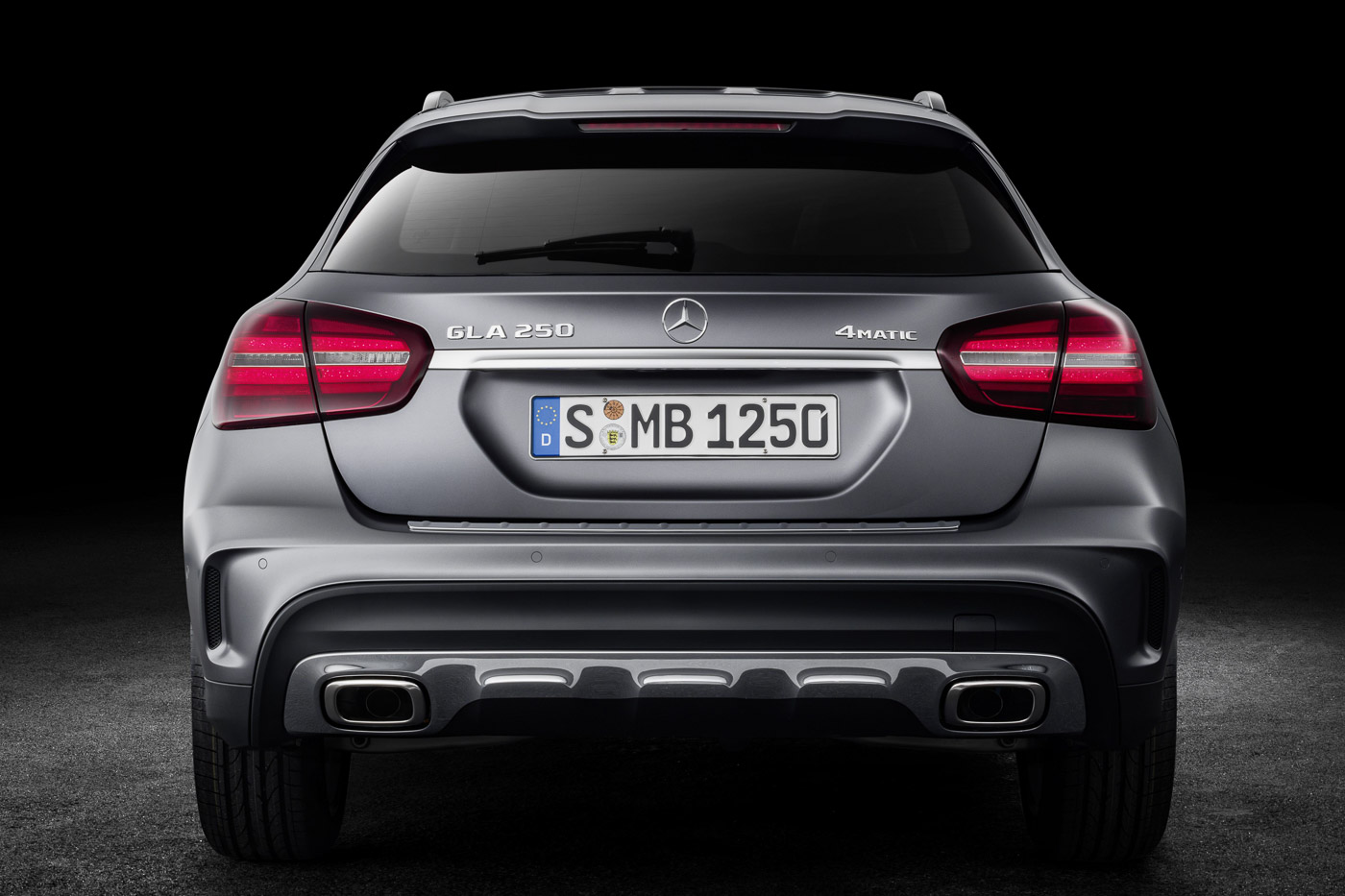 Night package is also a standard fitment on the GLA 250. It rides on 19-inch AMG lightweight alloy wheels.