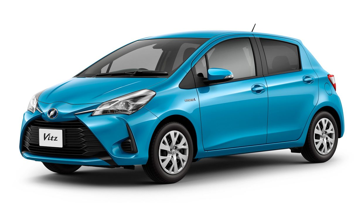 2017 toyota yaris hybrid launched in japan performance variant to follow. Black Bedroom Furniture Sets. Home Design Ideas
