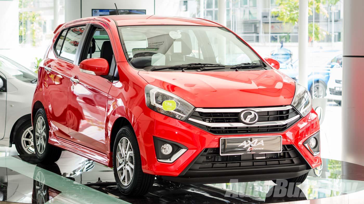 perodua axia facelift launched   dvvt   rmk  rmk autobuzzmy