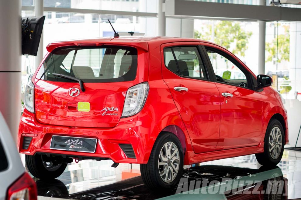 Perodua Axia Facelift launched, new 1.0L DVVT-i, from RM25k to RM43k! - AutoBuzz.my