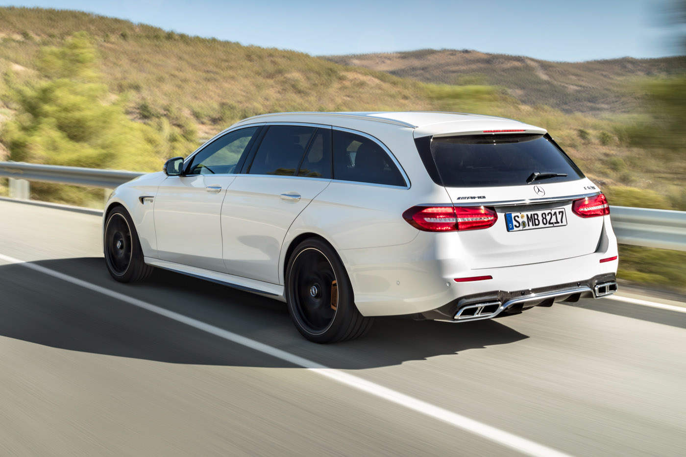 prices for mercedes amg e 63 e 63 s estate revealed. Black Bedroom Furniture Sets. Home Design Ideas
