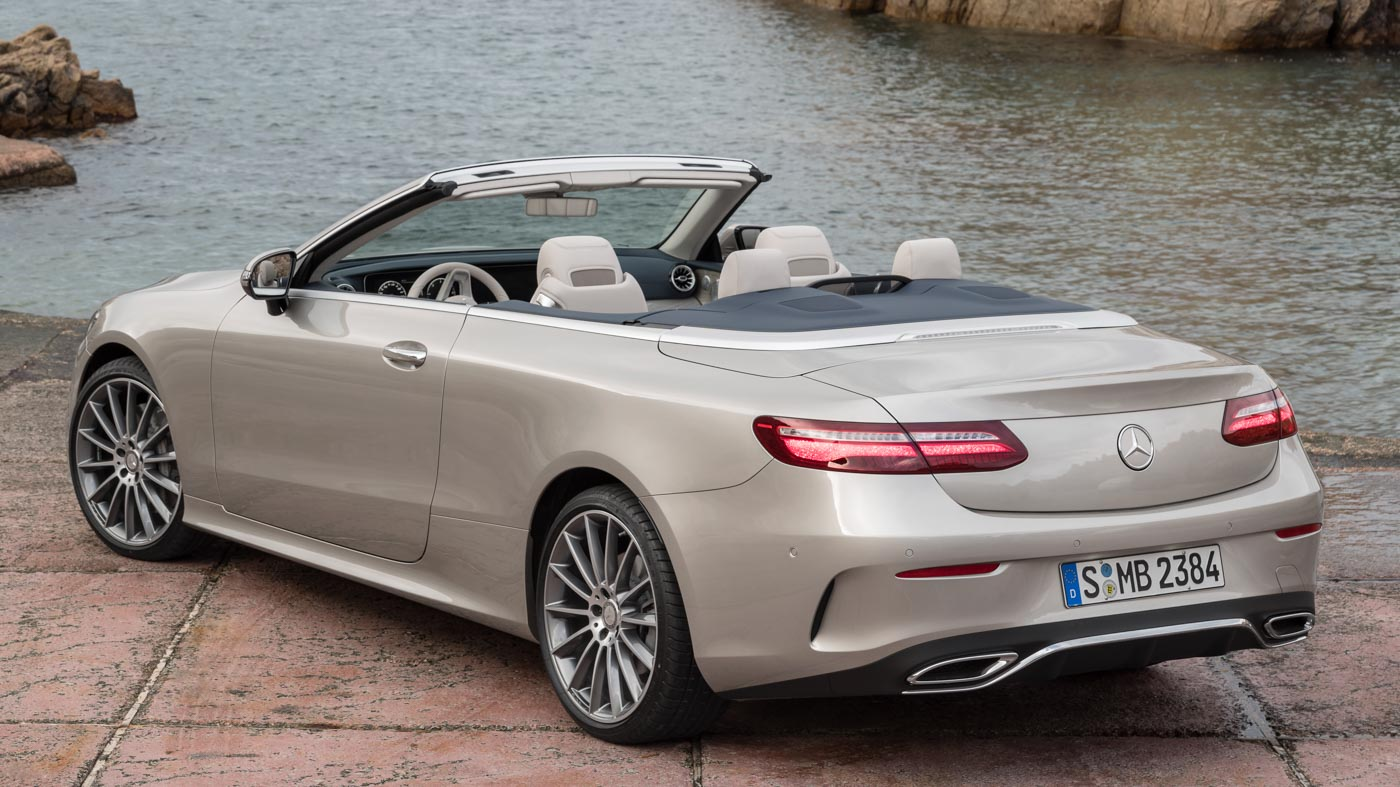 mercedes benz e class cabriolet goes on sale in the uk m. Black Bedroom Furniture Sets. Home Design Ideas