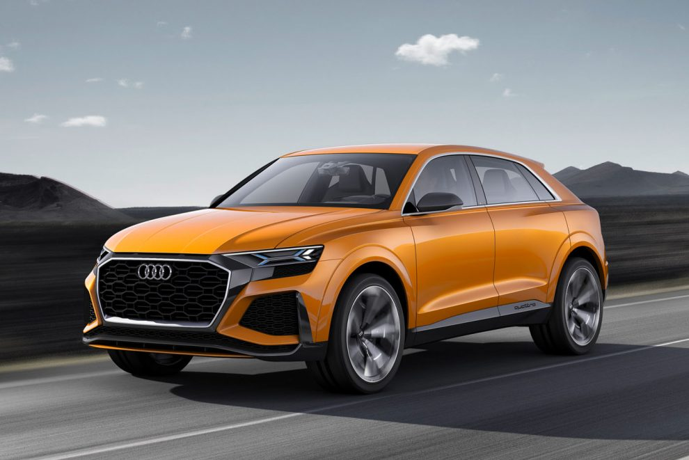 Audi Q8 and Q4 SUVs confirmed for production Q8 in 2018