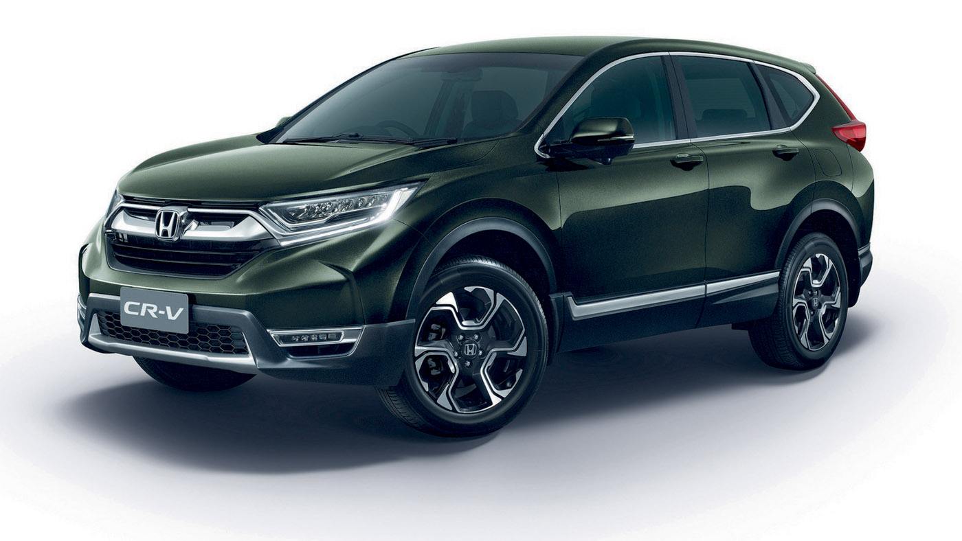 7 Seater Suv 2017 >> 2017 Honda CR-V launched in Thailand, prices start at a ...