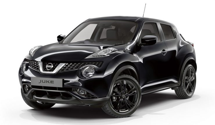 Masywnie Limited edition Nissan Juke Tekna Pulse and N-Connecta Style MJ79