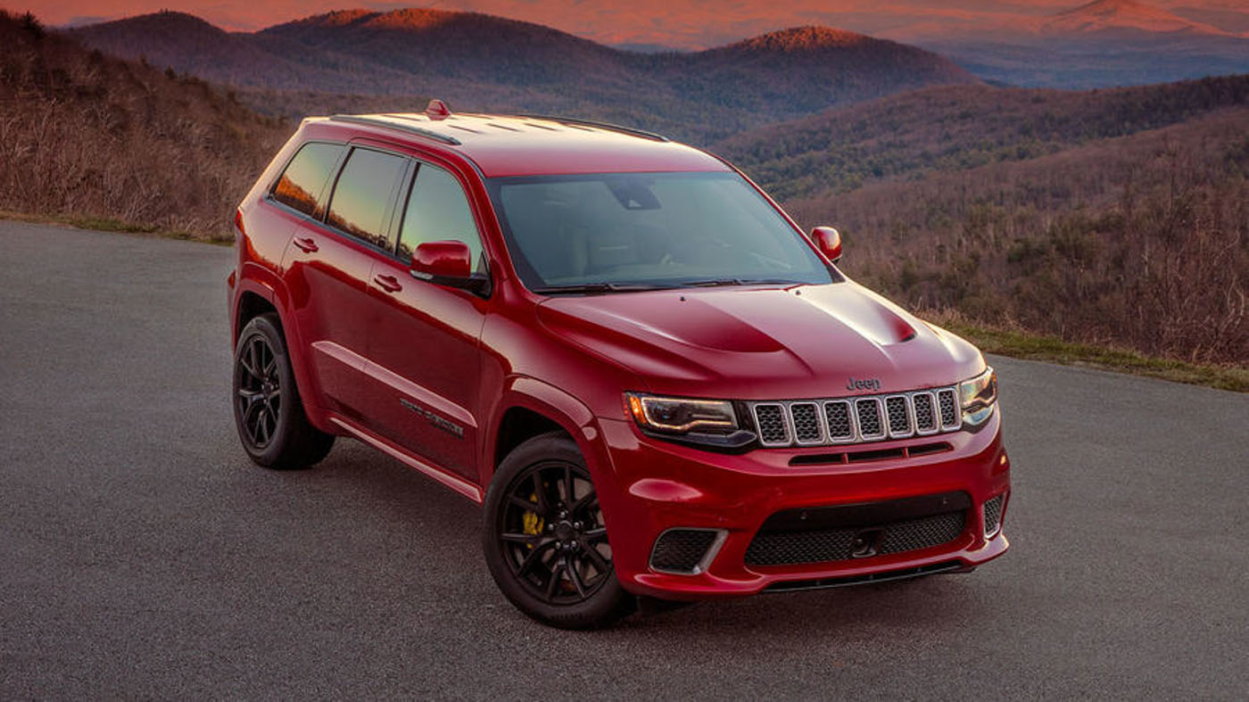 707 Hp Jeep Grand Cherokee Trackhawk Is The Most Powerful Suv In The World Autobuzz My