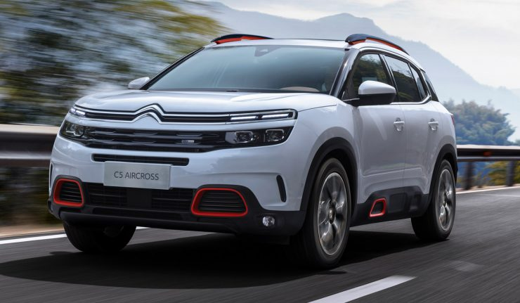 2017 Citroen C5 Aircross Unveiled Gets A 300 Hp Plug In Hybrid Variant
