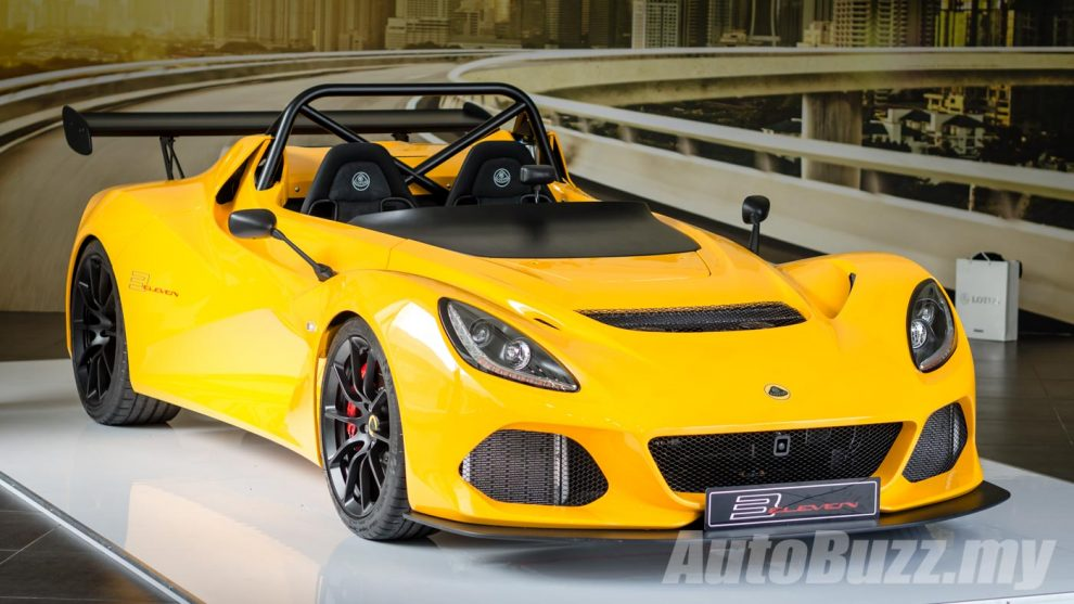 limited edition lotus 3 eleven chassis 001 crashed in malaysia. Black Bedroom Furniture Sets. Home Design Ideas