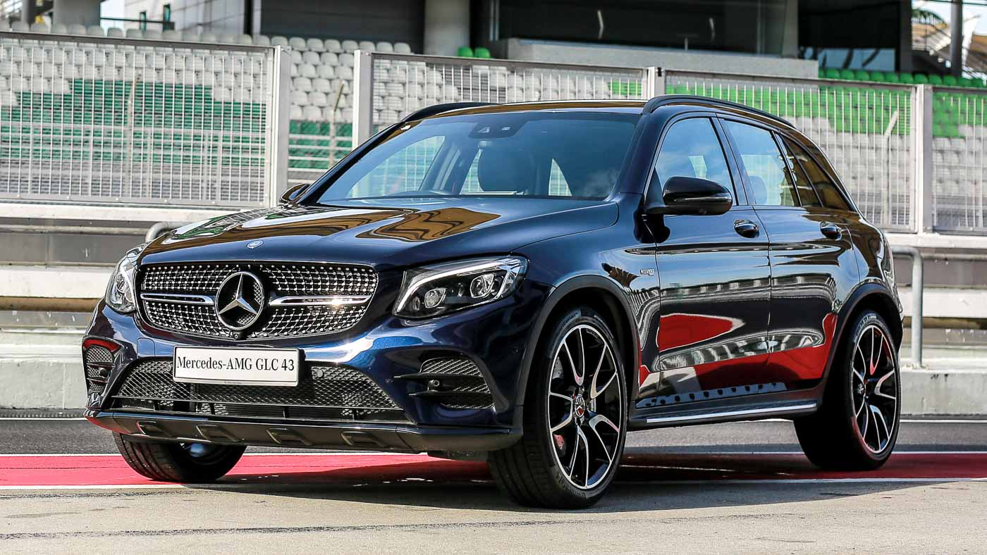 mercedes amg glc 43 4matic and coup launched 3 0l suv. Black Bedroom Furniture Sets. Home Design Ideas