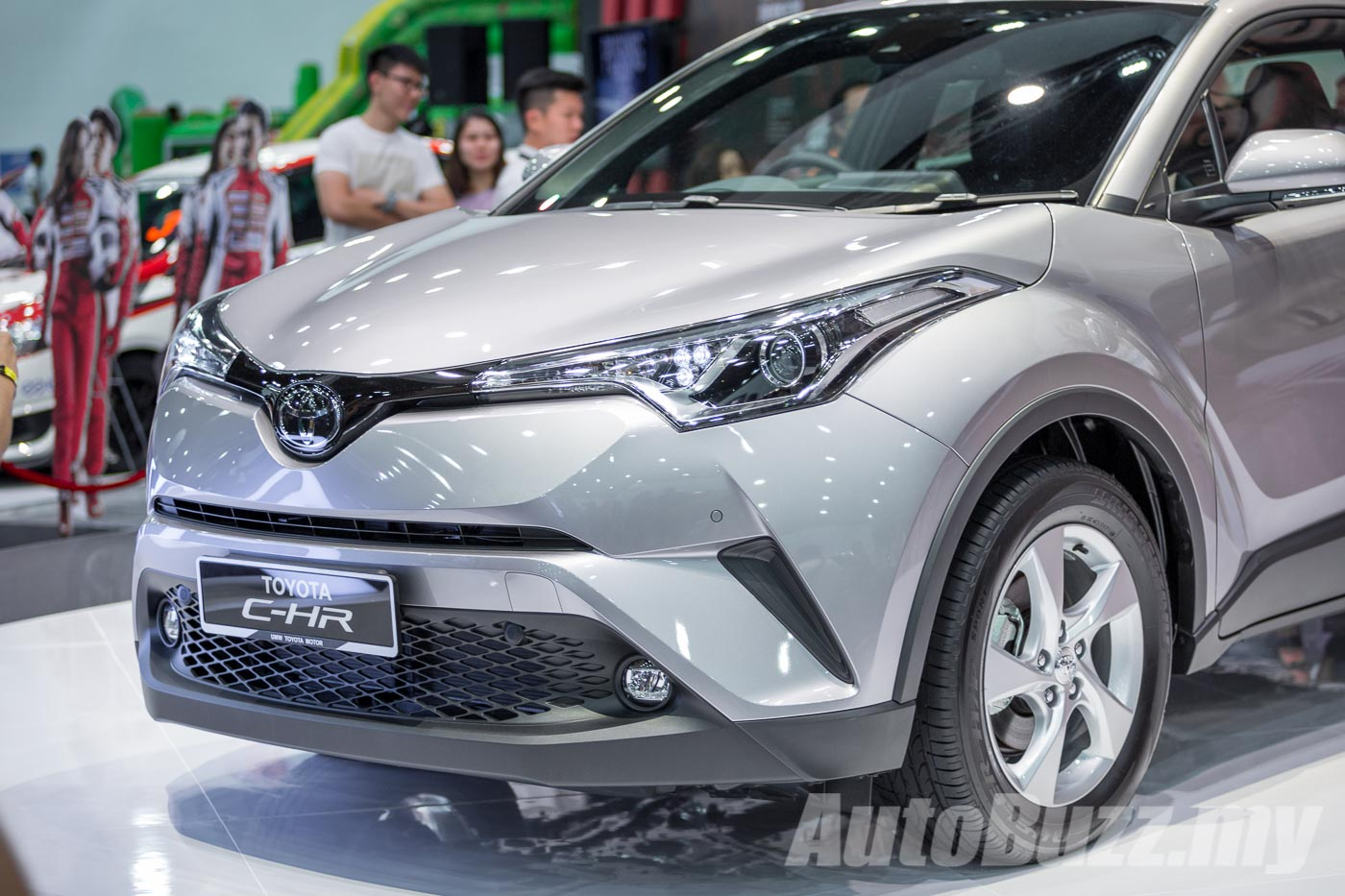 toyota c-hr finally previewed in malaysia, looks uber good in the