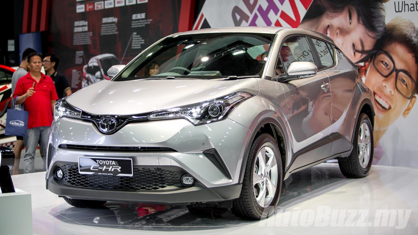 Toyota C Hr Appears On Toyota Malaysia Website 1 8l Cvt