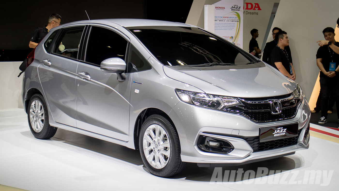 Honda Jazz Sport Hybrid Previewed In Malaysia 135 Hp