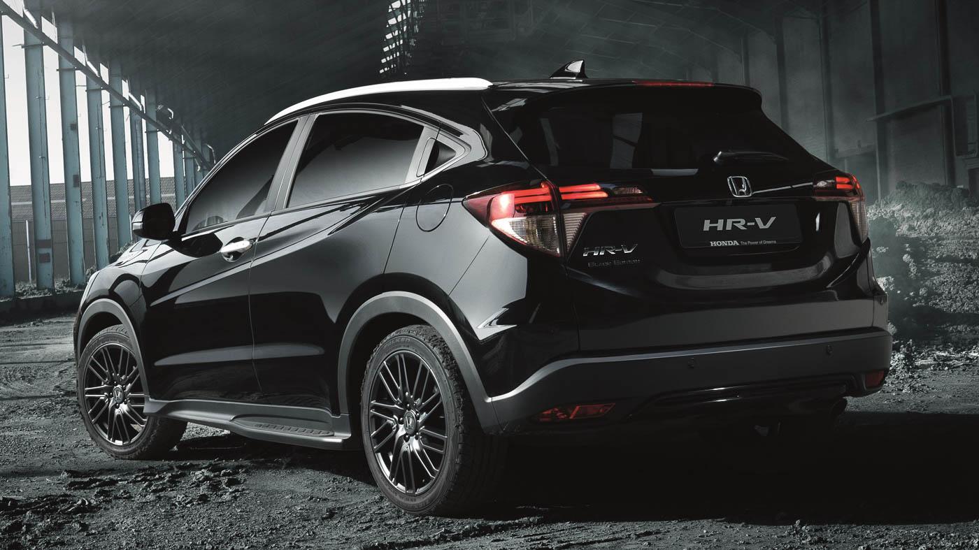 Honda Hr V Black Edition In Uk