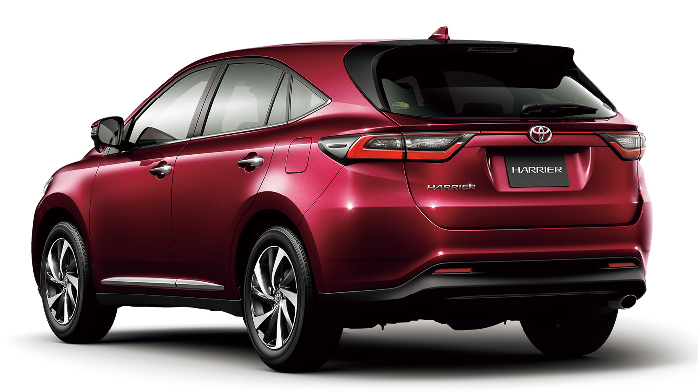 Toyota Harrier Updated In Japan New 2 0l Turbo Safety