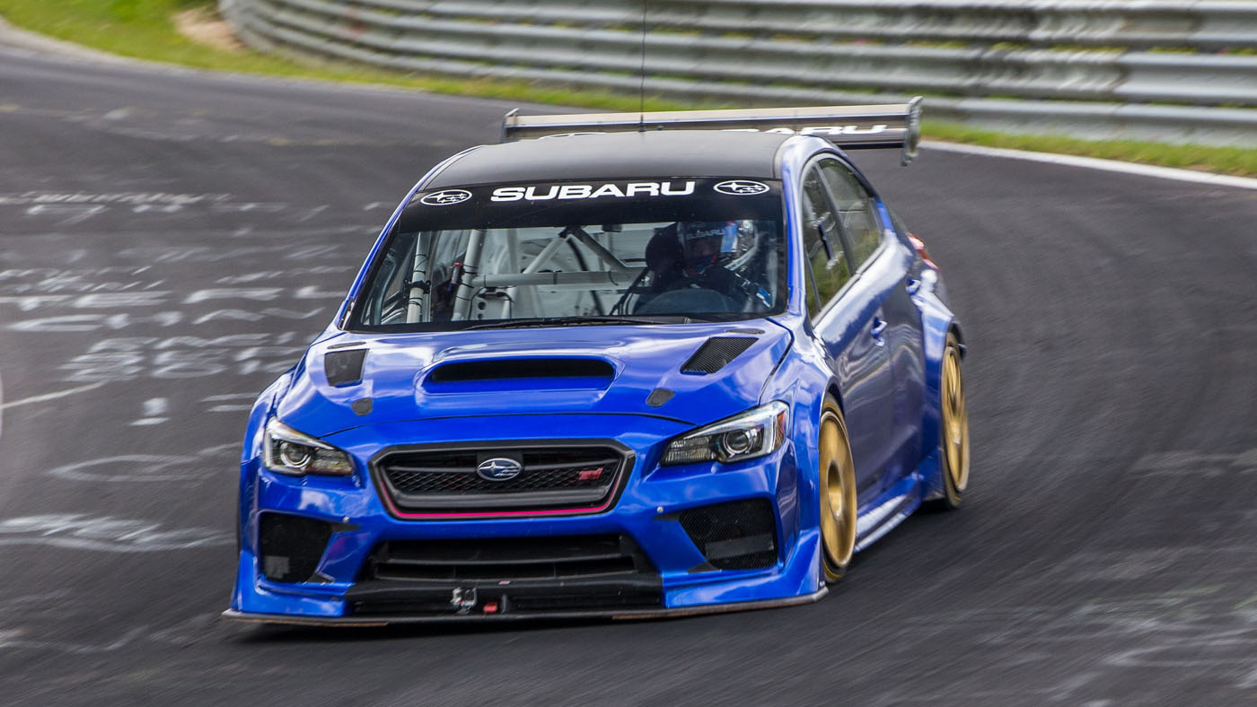 The Subaru Wrx Sti Type Ra Nbr Special Is Quicker Than A