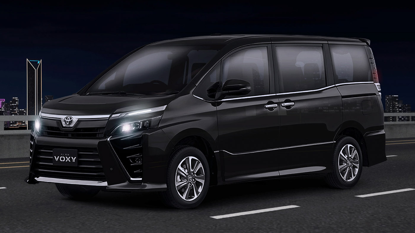 Toyota Voxy facelift launched in Indonesia, 2.0L CVT for ...