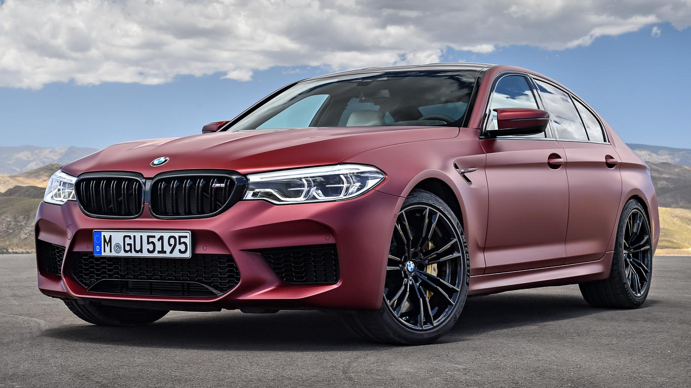 F90 Bmw M5 First Edition Gets Frozen Dark Red Paint 400 Units Worldwide Autobuzz My