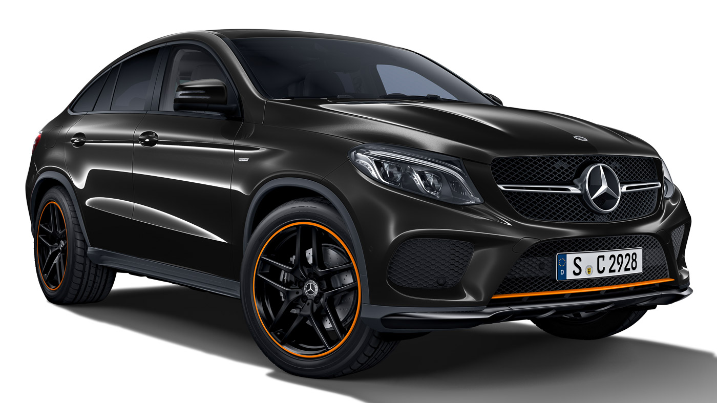 mercedes amg gle 43 coupe orangeart edition now in. Black Bedroom Furniture Sets. Home Design Ideas