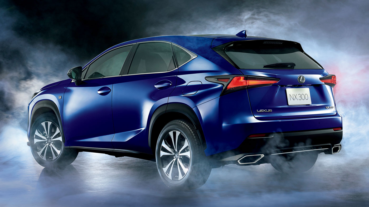 lexus nx updated again in japan adds smart powered tailgate hud. Black Bedroom Furniture Sets. Home Design Ideas